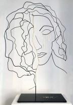 Range of Arts - Wire Sculpture - Laure Simoneau - L'Or