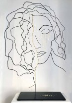 Range of Arts - Wire Sculpture - Laure Simoneau - L'Or