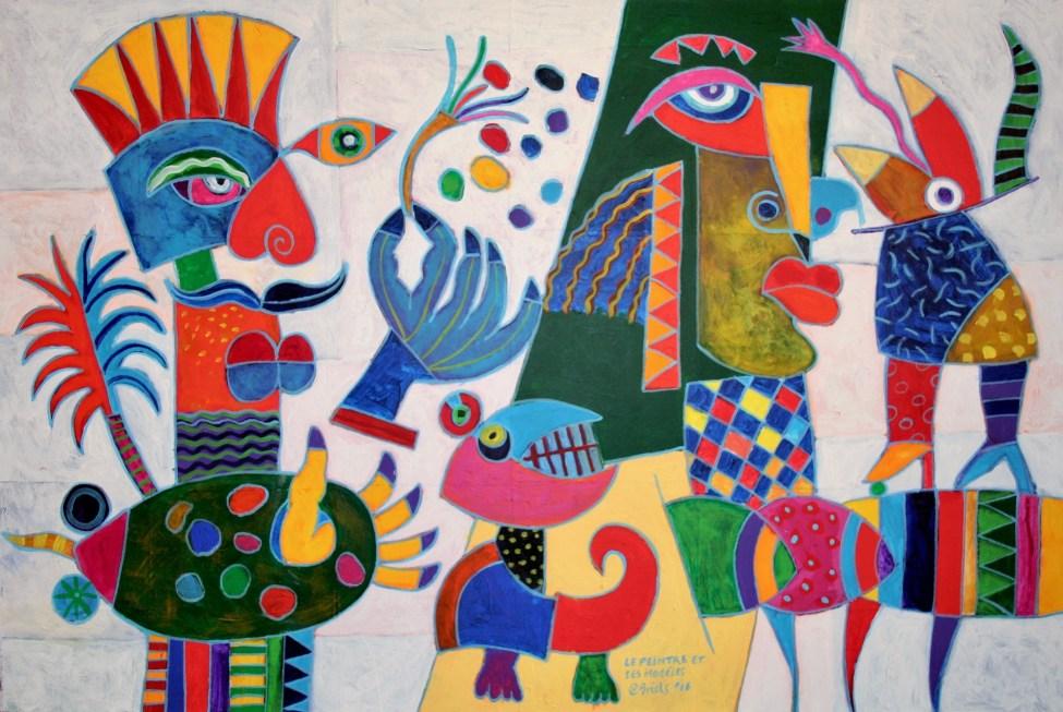 Range of Arts I Clemens Briels I Le Peintre et ses Modèles