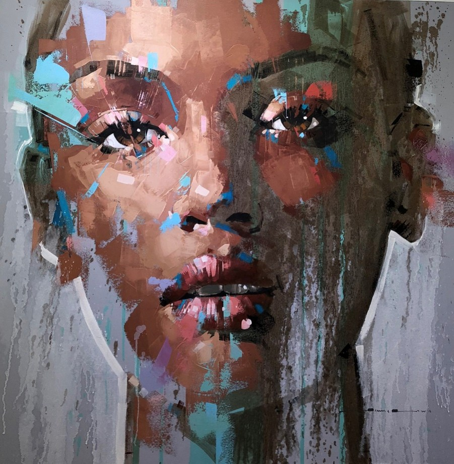 Jimmy Law artist painting portraits art prints peintre for sale