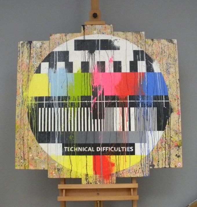 olivier ameye painter paintings artist belgium honfleur tv screen jennifer lawrence