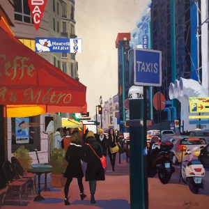 angie brooksby peintre painter oil painting biography honfleur
