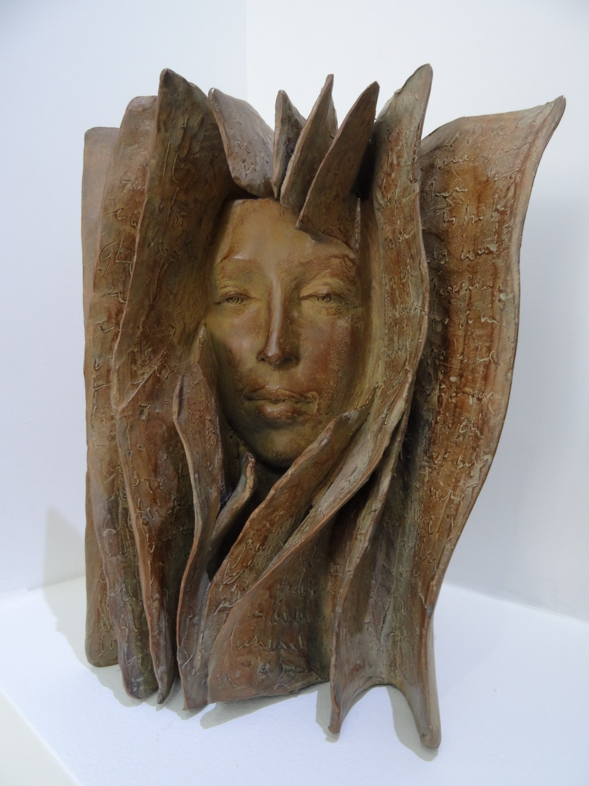 paola grizi art bronze books for sale in honfleur