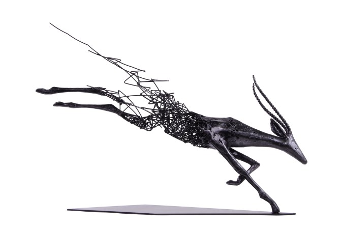Range of Arts - Iron Wire Sculpture - Tomohiro Inaba - The Memory Of The Comet