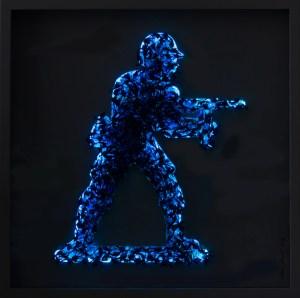 Range Of Arts - Valérie Carmet - ToyBox Series - Blue Freedom LED