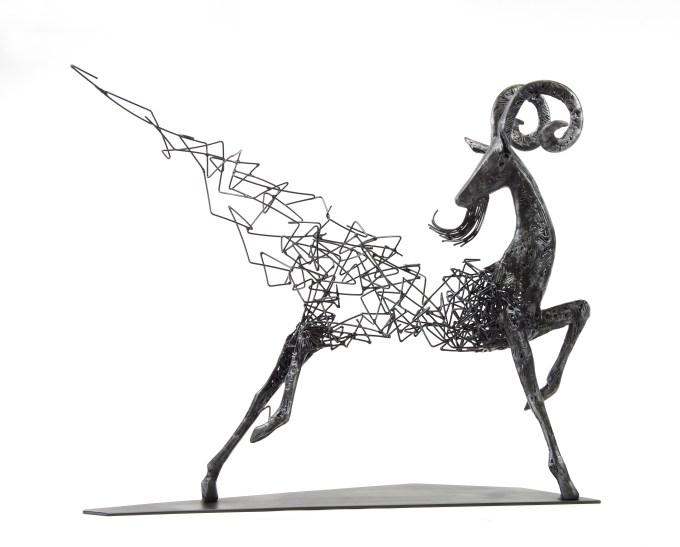 Range of Arts - Iron Wire Sculpture - Tomohiro Inaba - One Night As I Walked