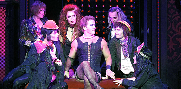 Image result for rocky horror craig mclachlan time warp