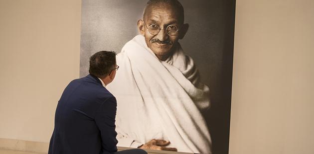 Image result for Digital Mahatma Gandhi Exhibition Opens in Melbourne