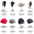 eCommerce Retail Website design - hat store