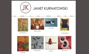 Janet Kurnatowski Art Gallery Website