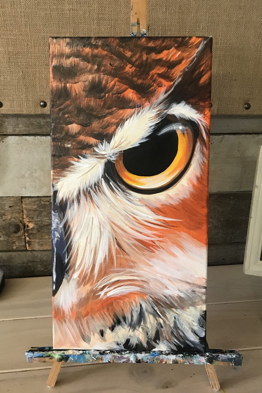The Owl Sip and Paint  Art Studio 27