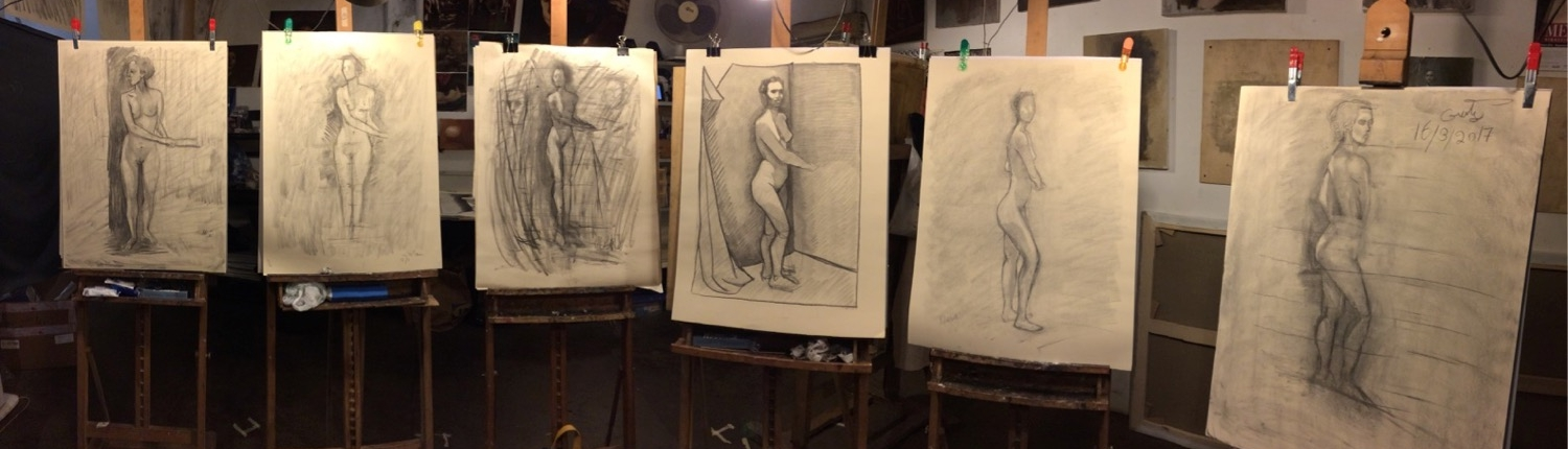 Figure Drawing - Apr 18