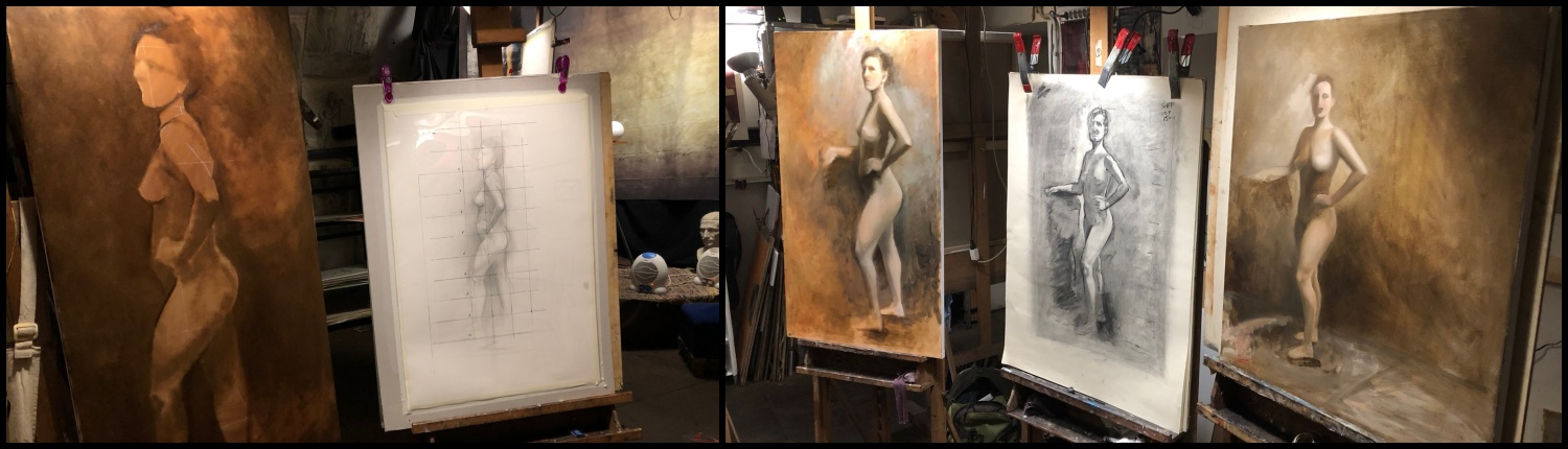 Advanced Painting: the Nude Figure - Jan 25 to Apr 18