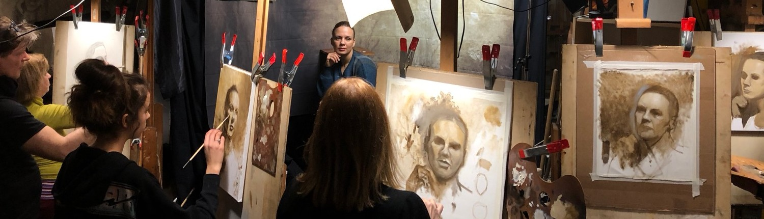 Portrait Painting in Oil - Sept 14 to Dec 14