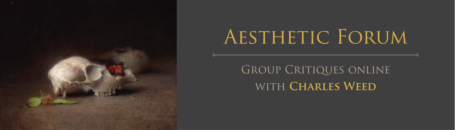 Aesthetic Forum Alpha - Group Critiques Online with Charles Weed