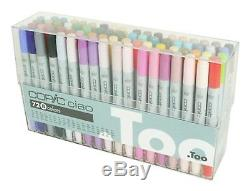 TOO Copic Ciao 72 color Set B Sketch Marker for Anime Manga New from Japan F/S