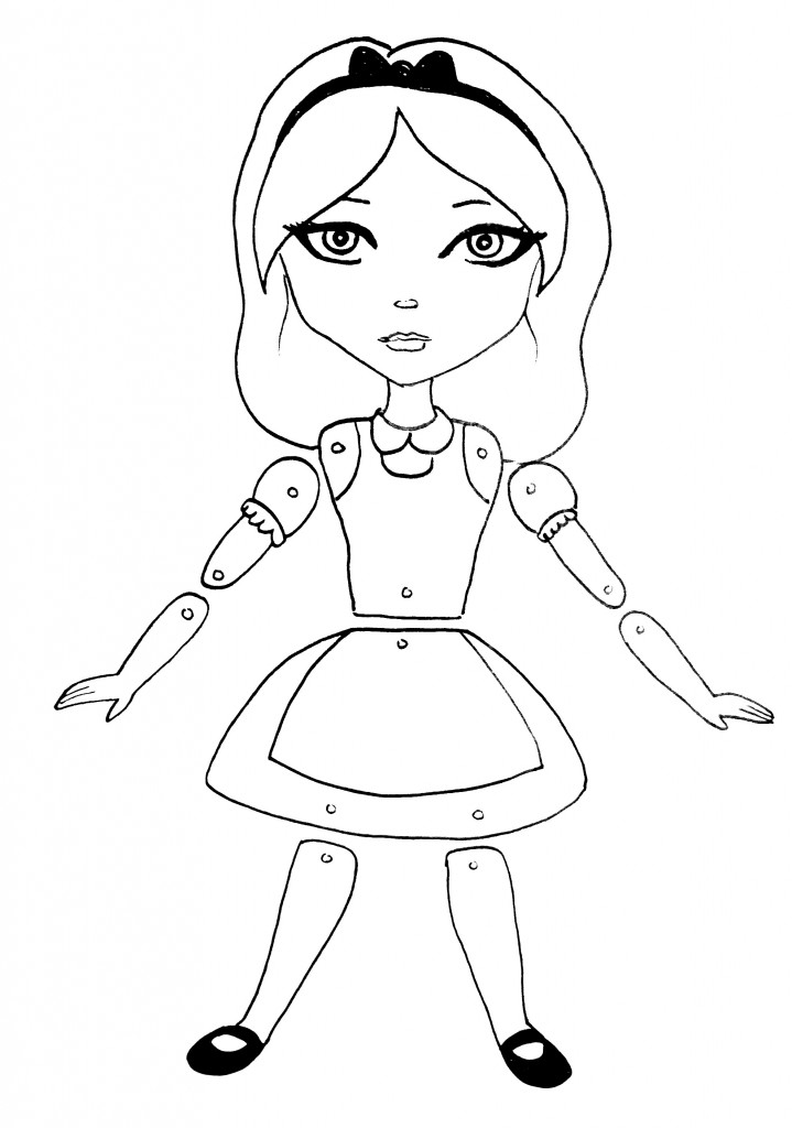 Posable Paper Dolls • Art Supply Guide