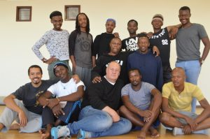 The cast of Afriqueer, a timeous highlight on the dance programme of the National Arts Festival 2016