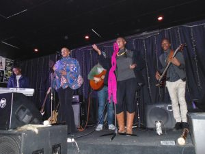 Leomile live at Slip Stream, Grahamstown. Image: Thato Tsotetsi/Artsvark