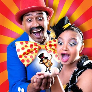 Rowin-Munsamy-and-Shona-Johnson-in-Copy-Dog_s-Fantastical-Flea-Circus