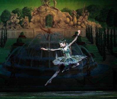 Lindsay Purrington as Carabosse in Sleeping Beauty