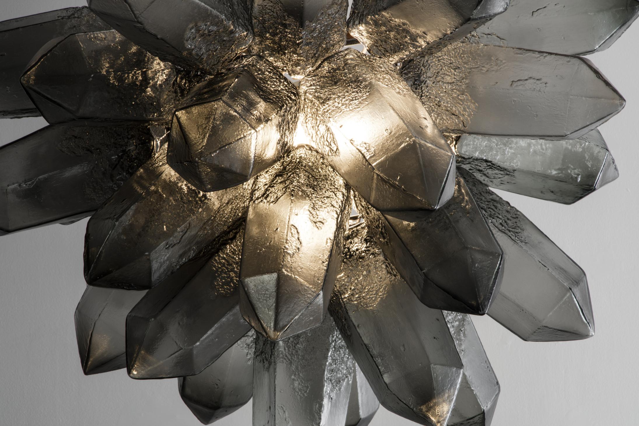 Jeff Zimmermans Sculptural Lamps Gleam as Lighting