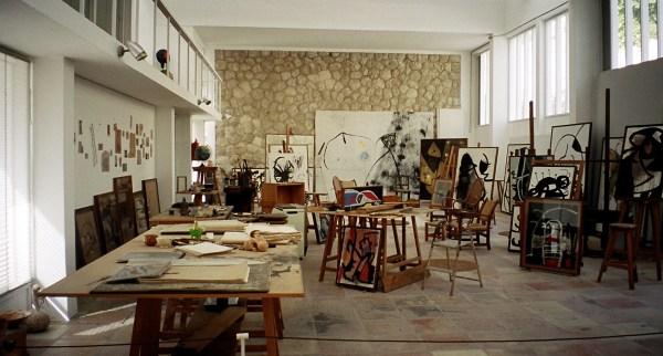 Famous Art of Artist Studio