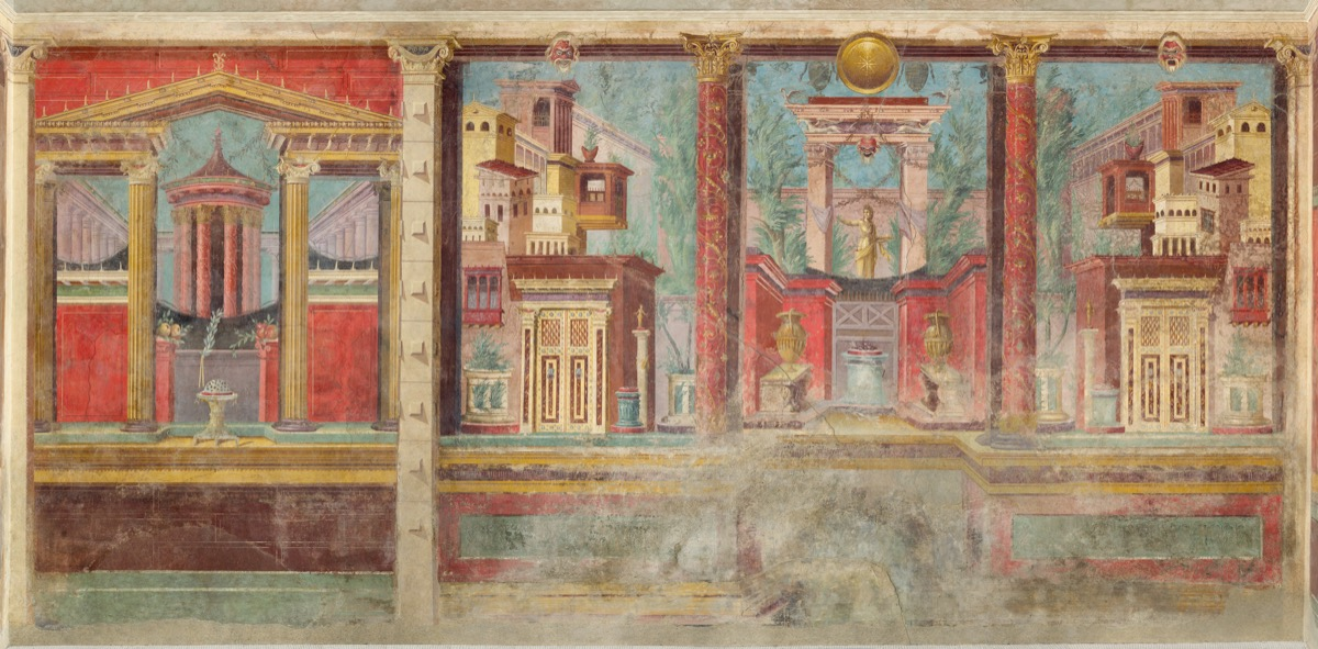 Frescoes In Pompeii S Lavish Villas Reveal The Fabulous Lives Of Ancient Romans Artsy