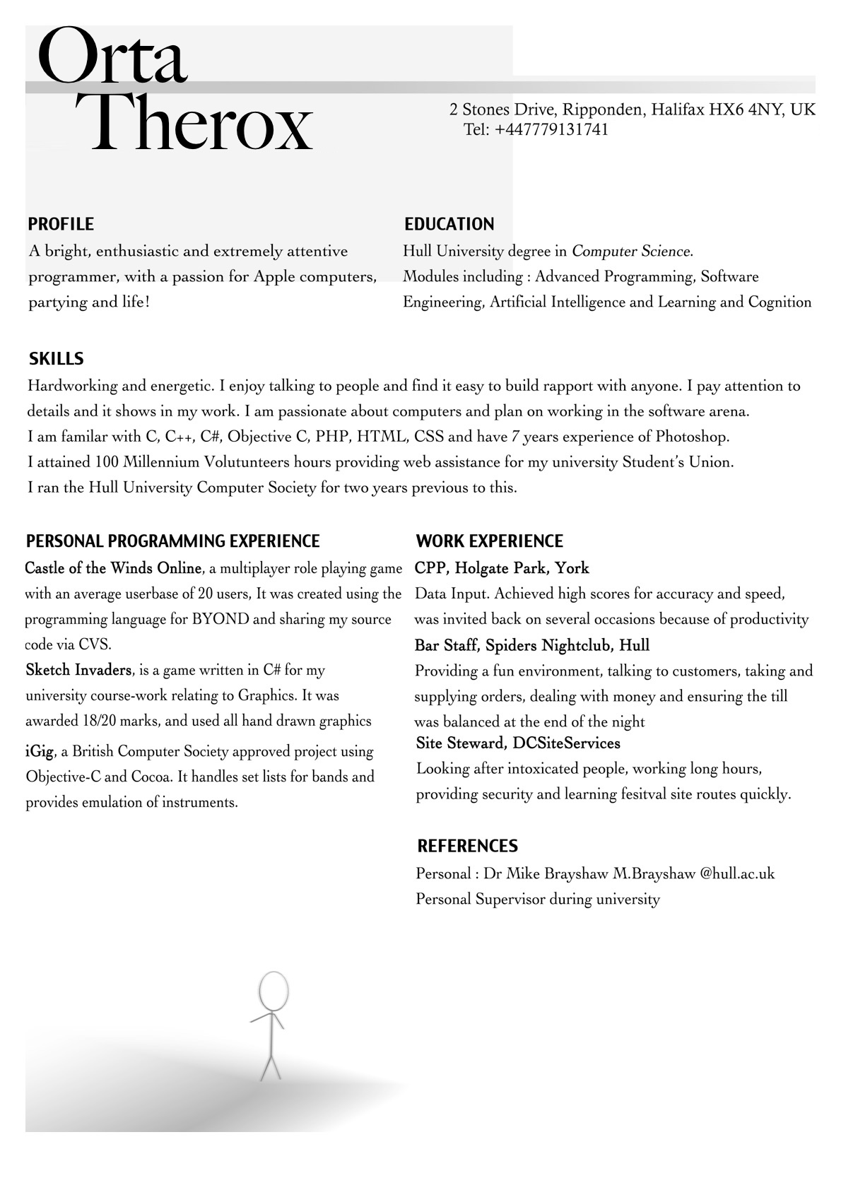 Should I Have References On My Resume Interviewing Applying And Getting Your First Job In Ios