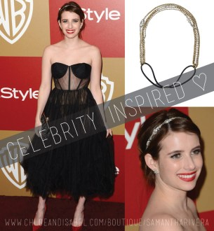 celebrity inspired emma roberts
