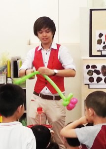 Me doing balloons. :D