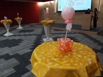 Lollipop Balloon Table Centerpiece