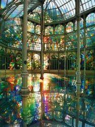 Palacio de Cristal en Retiro