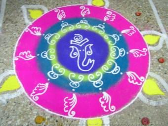 Beautiful and Easy Indian Rangoli Design – DIY