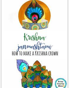 also krishna janmashtami how to make  crown artsy craftsy mom rh artsycraftsymom