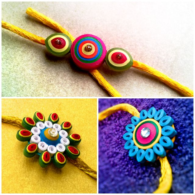 15 best ideas to make rakhi at home for rakshabandhan for Hand works with waste things