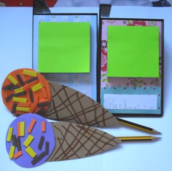 Icecream pencil holders – Entry from Annabel