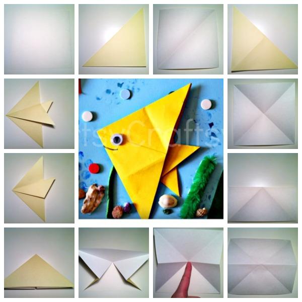 fish origami