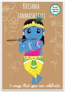 Krishna janmashtami - 5 ways that you can celebrate