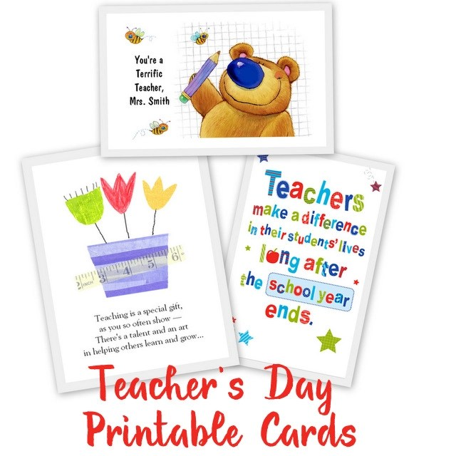 picture relating to Free Printable Teacher Appreciation Cards to Color referred to as 25 Wonderful Instructors Appreciation Playing cards with No cost Printables