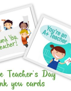 also awesome teachers  day card ideas with free printables rh artsycraftsymom
