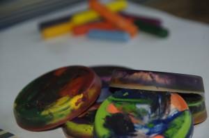 Colour Mix – Crayon cakes