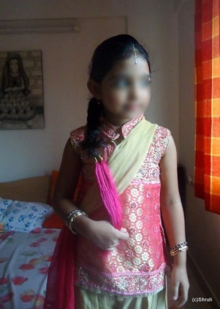Traditional day at school – Punjabi Costume