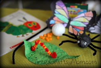 The very Hungry Caterpillar crafts – Its a Bug's Life