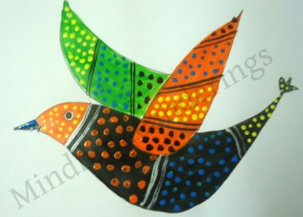 Exploring India Folk and Tribal Art: Gond Painting step by step