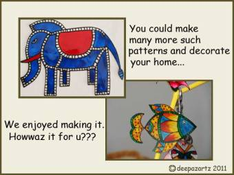Madhubani art ideas for kids