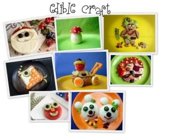 edible food creations - Little food junction