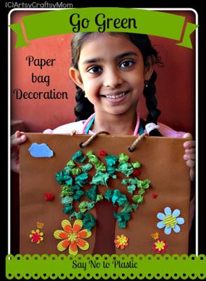 Go Green – Avoid Plastic – Craft Class