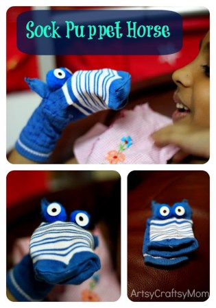 A lazy day with a sock puppet