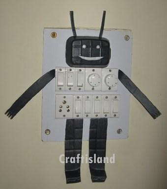 Thermocol Robot
